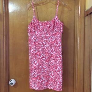 LOFT Dresses - Loft Adjustable Strap Cotton Sundress ~ L
